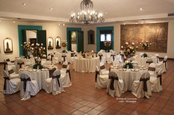 El Convento - Banquet room El Atrio